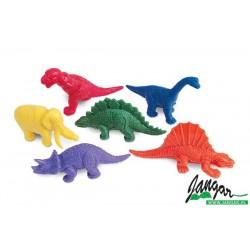 Liczmany: Dinozaury (108 szt.)