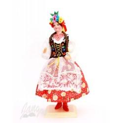 Krakowianka – lalka w stroju ludowym