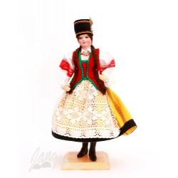 Kurpianka – lalka w stroju ludowym