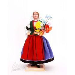 Wilanowianka – lalka w stroju ludowym