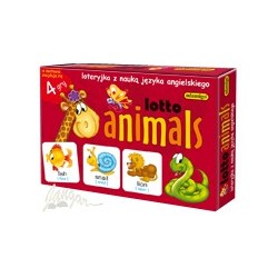 Lotto animals – loteryjka