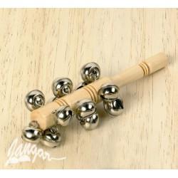 Janczary z rączką (13 dzwonków osadzonych na drewnianym uchwycie)