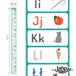 Mata – Alfabet z obrazkami 5 m x 0,38 m