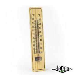 Termometr naścienny, drewniany