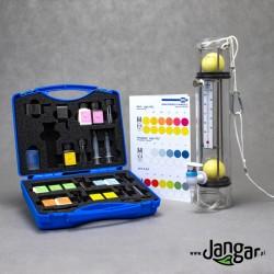 Szkolny zestaw do analizy wody z czerpaczem