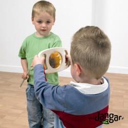 Lupa drewniana dla najmłodszych