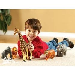Zwierzęta dżungli – zestaw 5 wielkich modeli