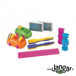 Zestaw elementów do doświadczeń magnetycznych i zabaw