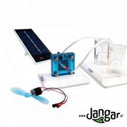 Ogniwo wodorowe i fotowoltaiczne – działający model
