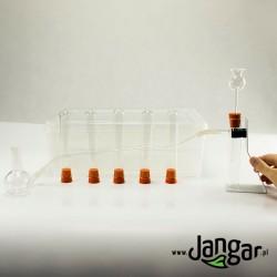 Prosty zestaw do wytwarzania wybranych gazów