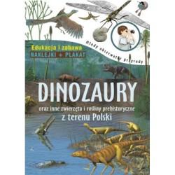 Młody obserwator przyrody. Dinozaury – książka