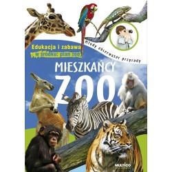 Młody obserwator przyrody. Mieszkańcy zoo – książka