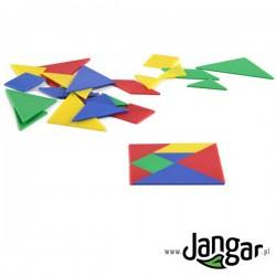 Tangram – łamigłówka, 28 części