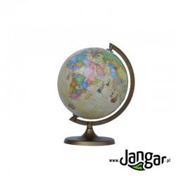 Globus z trasami odkrywców, podświetlany, średnica 25 cm