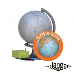 Globus konturowy, podświetlany, średnica 25 cm