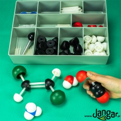 Modele atomów- zestaw do chemii organicznej i nieorganicznej (220 elementów)