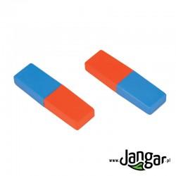 Magnesy sztabkowe 8 cm, kpl. 2