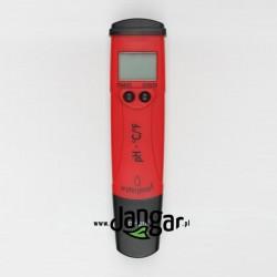 Wodoszczelny tester pH i temperatury, elektroniczny
