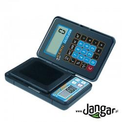 Waga elektroniczna, przenośna z kalkulatorem, (A) 0,1 g/max 150 g