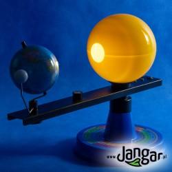 Słońce, Ziemia i Księżyc w ruchu - model IV (tellurium)