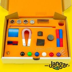 Zestaw magnesów, podstawowy J, 40 elementów w pudełku