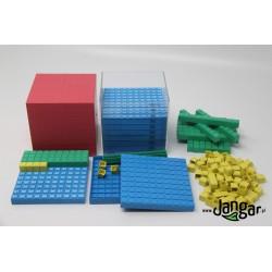 Sześcian-1000 jednostek, rozkładany – 132 elementy