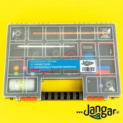 Rozszerzony zestaw do magnetyzmu i demonstracji prądów wirowych