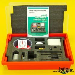 Eksperymenty uczniowskie FIZYKA, zestaw 2 - Magnetyzm i Elektrostatyka (P-BOX) z kartami pracy