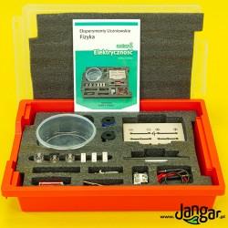 Eksperymenty uczniowskie FIZYKA, zestaw 1 - Elektryczność (P-BOX) z kartami pracy