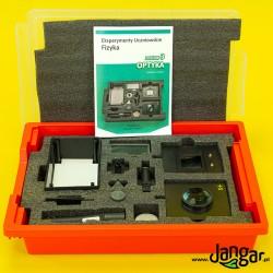 Eksperymenty uczniowskie FIZYKA, zestaw 3 - Optyka (P-BOX) z kartami pracy