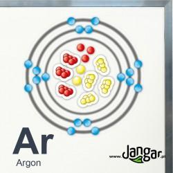Magnetic student kit for atom modeling according to Bohr