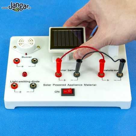 Pomoc do demonstracji energii słonecznej,