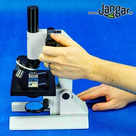 Mikroskop szkolny 600x/lustro