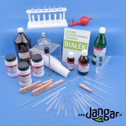 Zestaw do wykrywania i badania właściwości: Białek