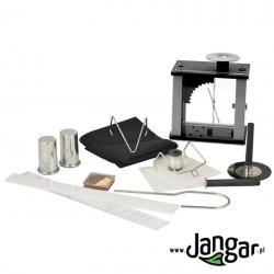 Zestaw do doświadczeń z elektrostatyki z elektroskopem