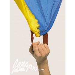 Tęczowy spadochron – chusta animacyjna 7 m (12 uchwytów)