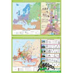 Mapa: Dziedzictwo kulturowe Europy (wersja 2004)