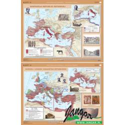 Mapa: Ekspansja republiki rzymskiej / Rozwój i Upadek Cesarstwa Rzymskiego