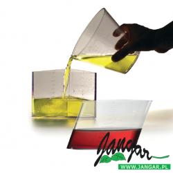 Zestaw 3 otwartych nieregularnych brył do porównywania objętości (1 litr)