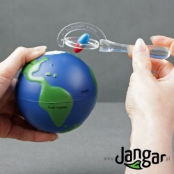 Magnetyzm kuli ziemskiej – zestaw doświadczalny