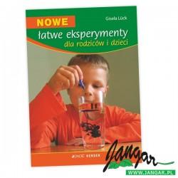 Nowe, łatwe eksperymenty dla rodziców i dzieci – książka