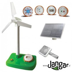 Energia odnawialna wody-wiatru-Słońca – model demonstracyjny