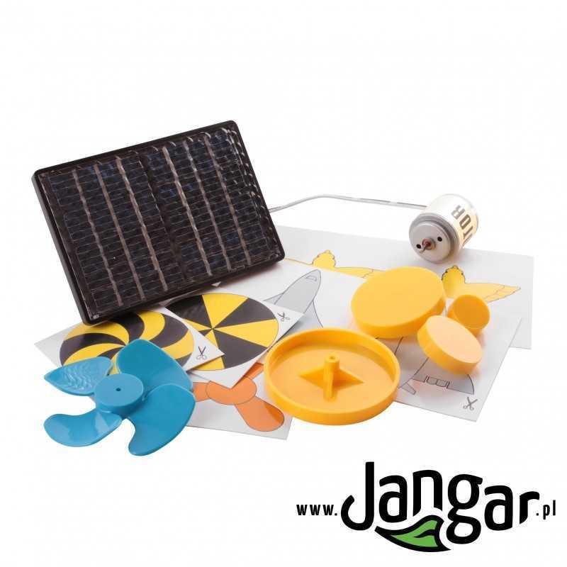 Zestaw do demonstracji energii słonecznej