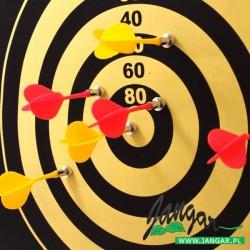 Tarcza z 6 lotkami-rzutkami, DARTS wersja magnetyczna