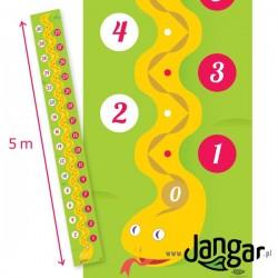 Mata – Oś liczbowa 0-30: Wąż 5 m x 0,6 m