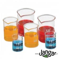 Zlewki miarowe szklane borokrzemianowe - kpl. 6 (3 różne)