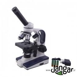 Mikroskop szkolny 40x-1000x Duo-LED bezprzewodowy