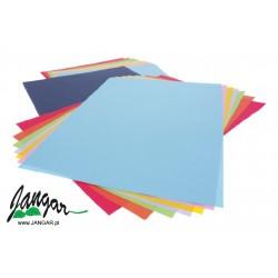 Teczka kolorowych papierów