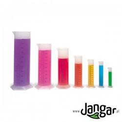 Cylindry miarowe PP – kpl. 7 różnych
