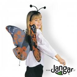 Kostium: Skrzydła motyla i czułki